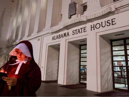 'Under His Eye':  In Alabama, the Future of Women's Rights Takes a Dark Turn · By Cia Risbridger
