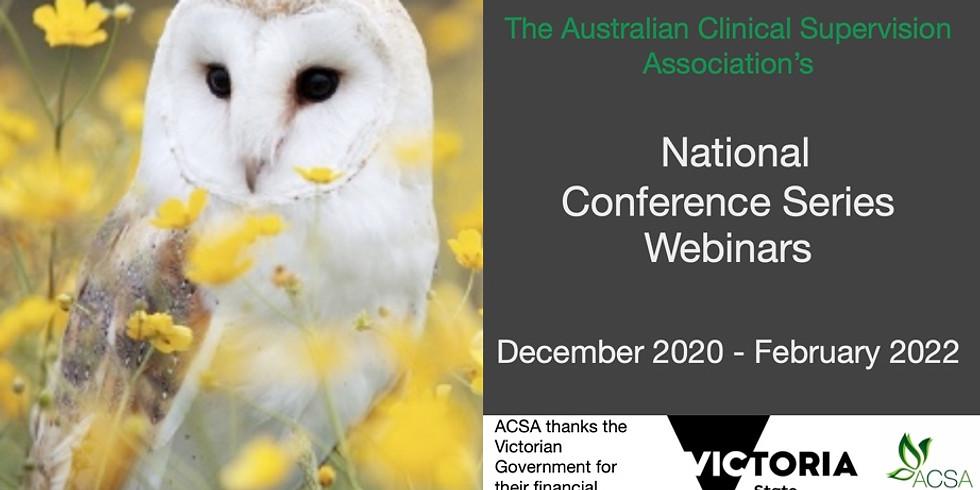 National Conference Series Webinar #5 - Keynote Anna Love