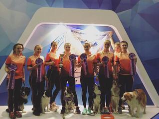 Команда Ясенево заняла 3 место на выставке Россия 2017!