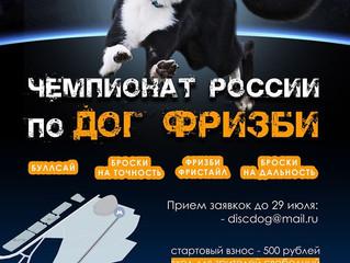 Чемпионат России по дог фризби