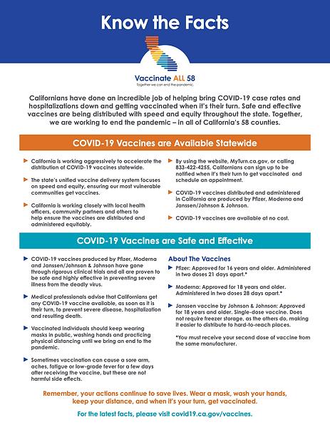 Flyer - Covid Vaccine Fact Sheet - English - CDPH copy.png