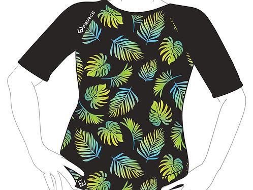 Short Sleeve Jersey - Summer Leaves