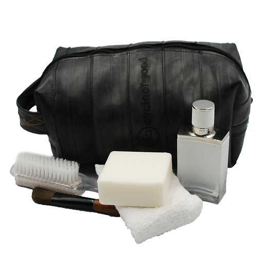 Recycled Inner Tube Wash/Kit bag