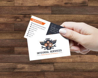 Integral Services Branding