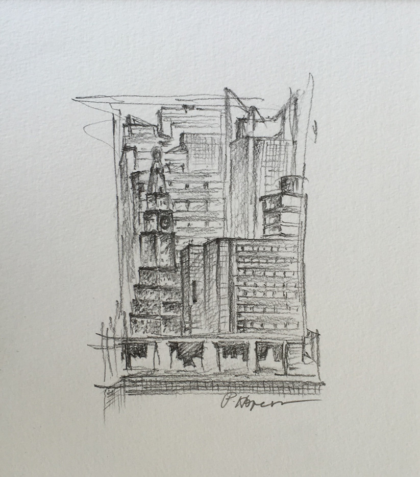 Hope Brannon, New York, Graphite on Paper, 6 x 7, $225.jpg
