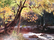ALFORD, KELLEY__CREEKSIDE__OIL_24_X30__