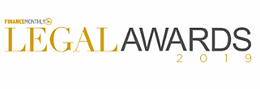 Finance Monthly LegalAwards 2019 winner_