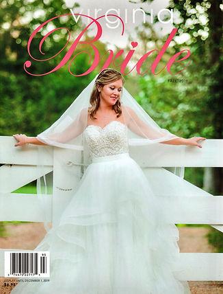 Virginia Bride Magazine Cover Fall 2019