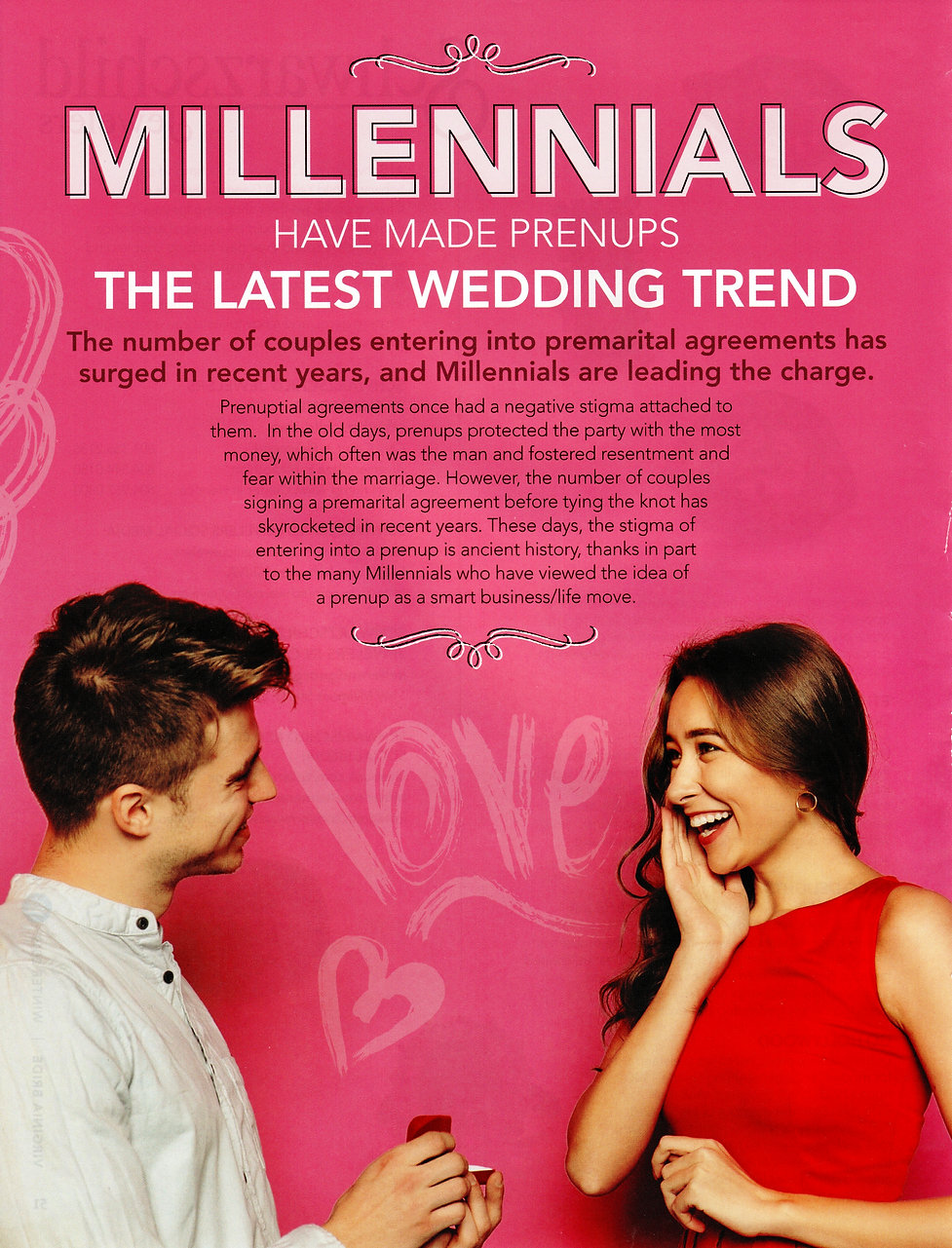 Millennials have Made Prenups the Latest
