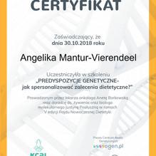 Angelika Mantur-Vierendeel E_CertyfikatO