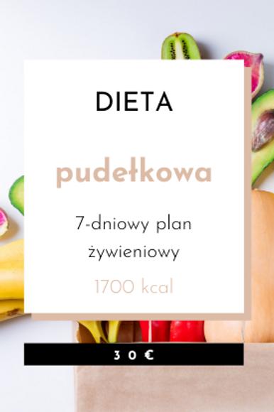 Dieta Pudełkowa 1700kcal