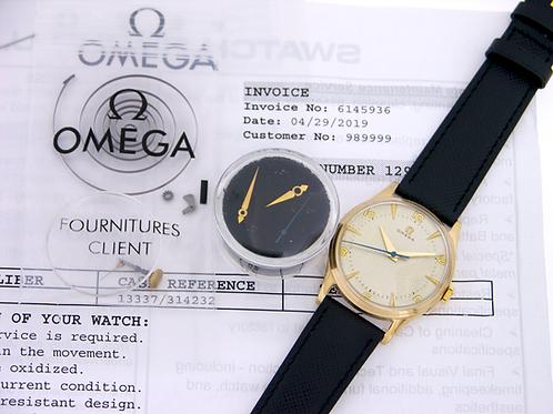 Omega Dennison Reference 13337 9k Gold - Calibre 283