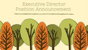 EXECUTIVE DIRECTOR POSITION ANNOUNCEMENT