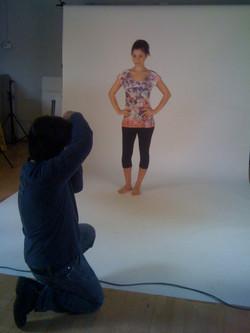Photoshoot for Avani Activewear