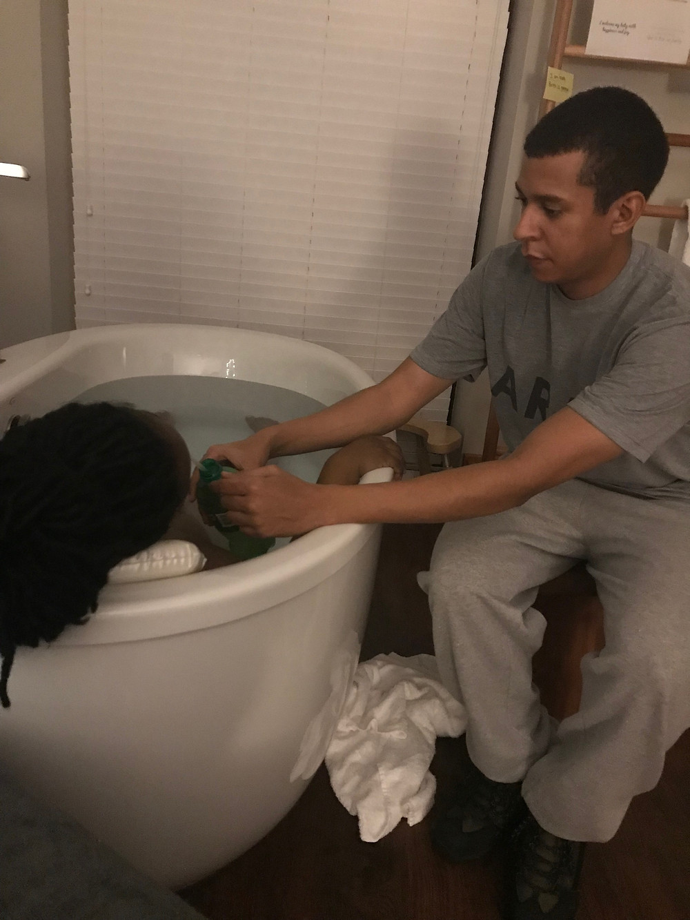 Labor in the Tub