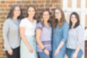 Christina, Sarah, Betsy, Jessica, Kristian