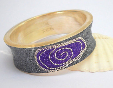 Sterling silver bracelet bangle.