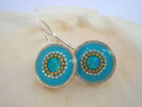 Mint Turquoise earrings