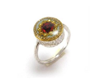 Round shape Rose ring
