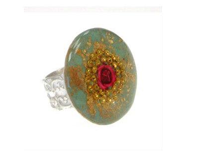 Round rose ring