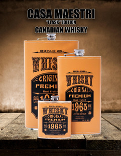 Casa Maestri Flask Whisky