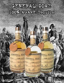 General Diaz Tequila