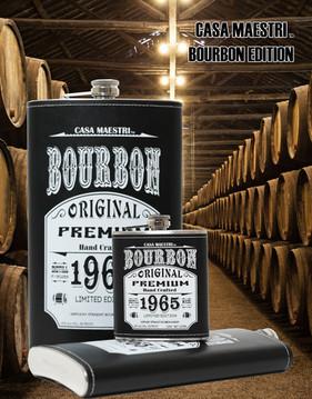 Casa Maestri Flask Bourbon