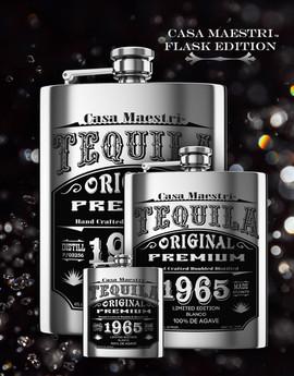 Casa Maestri Flask Tequila