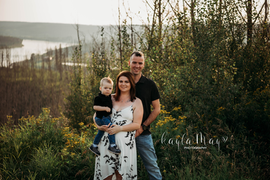 Fort McMurray Engagement Photo