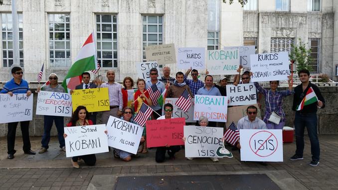 Solidarity with Kobanî and Ezîdîs