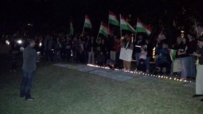 Vigils and Solidarity with Kurdistan