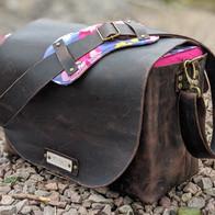 Custom Leather Camera Bag