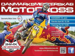 DM Motocross til Randers
