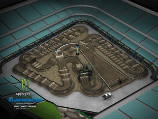 Banedesign til Monster Energy Supercross