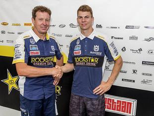 Kjer Olsen til Rockstar Energy Husqvarna Factory Racing
