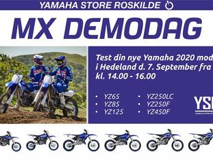 Yamaha demodag på Hedeland 7/9