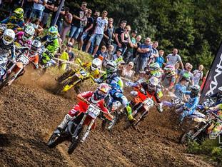 Intens fight ved DM Motocross i Svendborg