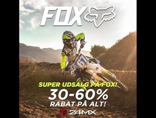 30-60% rabat på FOX!