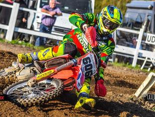Magnus Ø tog sidste stik i DM B-MX1