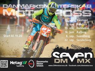 SEVEN bliver titel-sponsor af DM Motocross