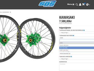 Nu kan du selv designe dine SOS hjul på sosracingparts.dk!