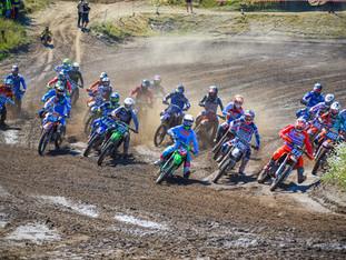 Vildt mudderræs ved DM motocross i Aalborg