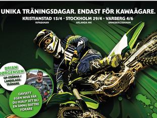Grønne træningsdage i Sverige!