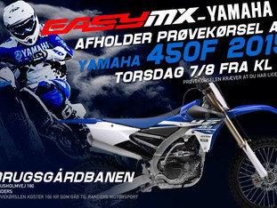 Yamahaer og gode tilbud hos EasyMX
