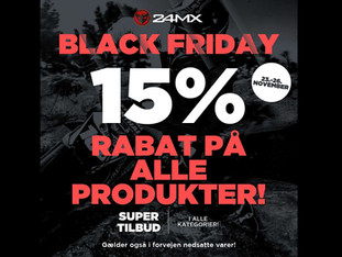 Black Friday hos 24MX!