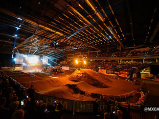 Yamaha Supercross & Freestyle i Jyske Bank Boxen