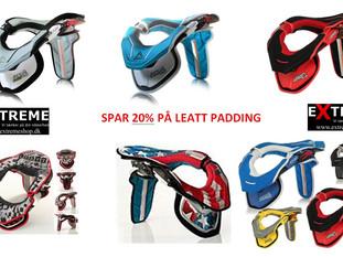 Padding tilbud - Få din Leatt til at ligne en ny
