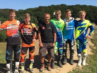 Det danske Motocross of Nations hold udtaget