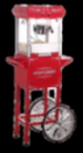 popcorn machine rental