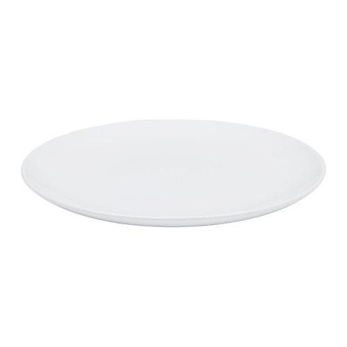 White Dinner Plate (25cm diameter)